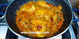 روش پخت مرغ ماستی